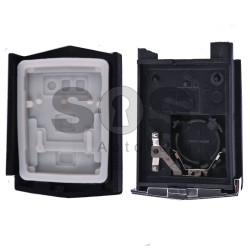 Key Shell (Back Part-Flip) for Mazda Buttons:2 / Blade signature: MA24R / Different Battery Place / (02)
