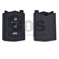 Key Shell (Back Part-Flip) for Mazda Buttons:3 / Blade signature: MA24R / (01)