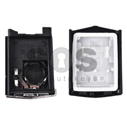 Key Shell (Back Part-Flip) for Mazda Buttons:3 / Blade signature: MA24R / Different Battery Place / (02)