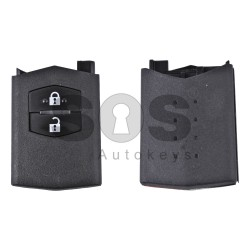Key Shell (Back Part-Flip) for Mazda Buttons:2 / Blade signature: MA24R / (01)