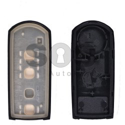 Key Shell (Smart) for Mazda Buttons:2+1 / Blade signature: MA24R / (With Logo)