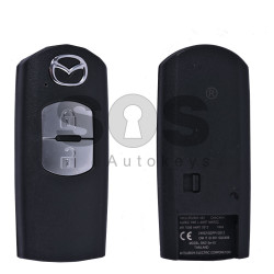 Key Shell (Smart) for Mazda Buttons:2 / Blade signature: MA24R / (With Logo)