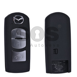 Key Shell (Smart) for Mazda Buttons:3 / Blade signature: MA24R / (With Logo)