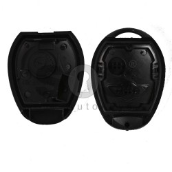 Key Shell (Head-Regular) for Mini Cooper One Buttons:2 / Blade signature: HU92 / (With Logo)