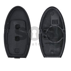 Key Shell (Smart) for Nissan Buttons:3 / Blade signature: NSN14 / (With Slot) / (With Logo)
