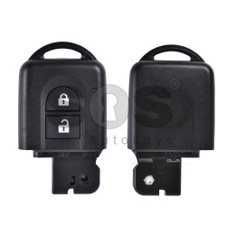 Key Shell (Smart) for Nissan Micra/Qashqai Buttons:2 / Blade signature: NSN14 / (Without blade/Without Front Part)