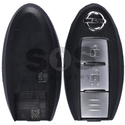 Key Shell (Smart) for Nissan Buttons:2 / Blade signature: NSN14 / (With Logo)