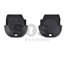 Key Shell (Head-Remote) for Nissan Buttons:2