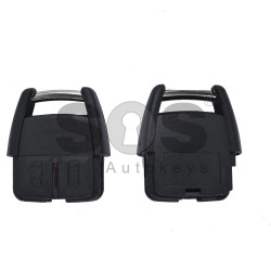 Key Shell (Head - Remote) for Opel Buttons:2