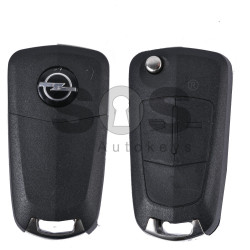 Key Shell (Flip) for Opel (Antara) Buttons:2 / Blade signature: YM27 / (With Logo)