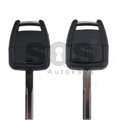 Key Shell (Regular) for Opel Vectra C Buttons:2 / Blade signature: YM27