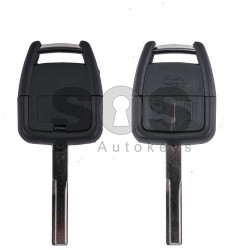 Key Shell (Regular) for Opel Vectra C Buttons:3 / Blade signature: YM27