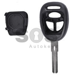 Key Shell (Regular) for SAAB Buttons:3 / Blade signature: YM27
