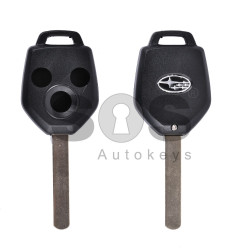 Key Shell (Regular) for Subaru Buttons:3 / Blade signature: DAT17 / (With Logo)