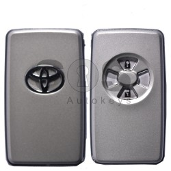 Key Shell (Smart) for Toyota Buttons:2 / RAV 4 / With Blade / (With Logo)