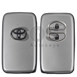 Key Shell (Smart) for Toyota Buttons:2 / (With Logo)