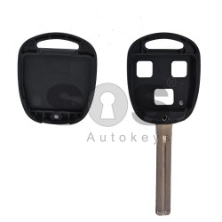 Key Shell (Regular) for Toyota Buttons:3 / Blade signature: TOY48 / (With Logo)