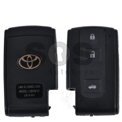 Key Shell (Smart) for Toyota Buttons:3 / (With Logo)