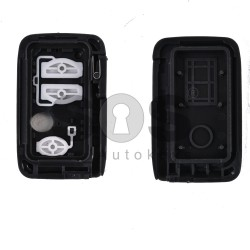 Key Shell (Smart) for Toyota Buttons:2+1 / (With Logo)