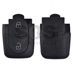 Key Shell (Back Part - Flip) for VAG Buttons:2 / Blade signature: HU66 / Battery: 2032 / (Round)