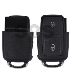 Key Shell (Back Part - Flip) for VW Buttons:2 / Blade signature: HU66 / (Square)