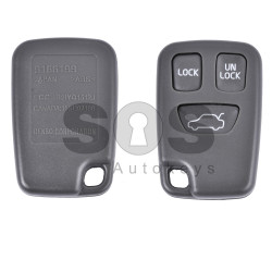 Key Shell (Remote) for Volvo Buttons:3