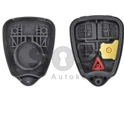 Key Shell (Remote) for Volvo Buttons:5