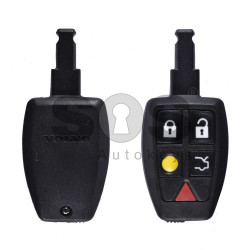 Key Shell (Smart) for Volvo (FISH) Buttons:5 / Blade signature: HU101 / (With Logo)