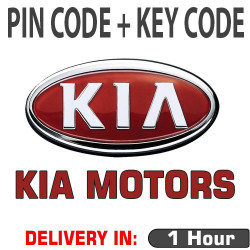 PIN CODE FOR KIA for models after 2019+