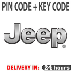 PIN CODE FOR JEEP